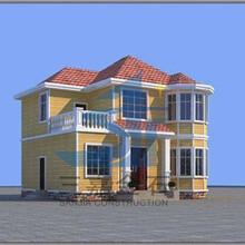 河北供應東三省鋼結構房屋輕鋼結構房子定制模塊建房圖片