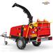 新型樹枝削片機木材粉碎機TP175園林綠化廢棄物破碎機