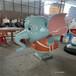 玻璃鋼公仔雕塑-玻璃鋼動物雕塑-動畫卡通雕塑制作廠