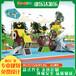 新佳豪組合滑梯,深圳幼兒園商場非標兒童滑梯價格
