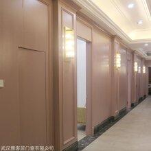 定制医院宿舍办公楼 实木烤漆隐形木门 工程木饰面护墙板厂家