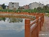 藝高景觀圍墻柵欄,廣州仿竹護欄報價仿木護欄批發代理