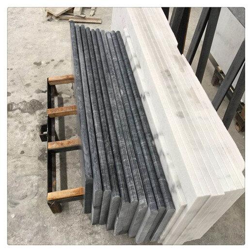 云南白色系大理石楼梯生产厂家,大理石楼梯踏步