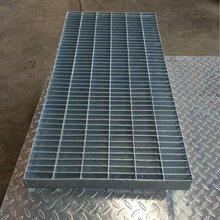 方格网格栅板排水钢盖板 平台钢格栅板定做 钢格栅定做厂家图片