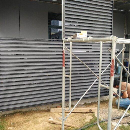 绍兴空调罩围挡格栅空调罩安装厂家