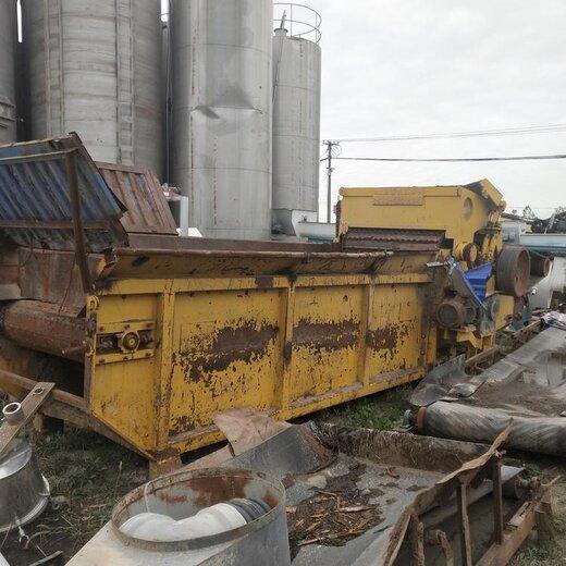 二手大型綜合破碎機回收,二手樹根破碎機