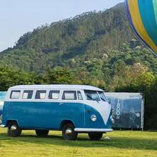 青岛生产大众TI复古巴士移动售卖车多动能餐车品质优良图片