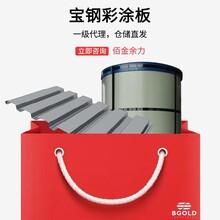 山東冠洲上海寶鋼彩涂板總代理