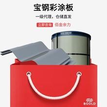 安徽上海寶鋼彩鋼瓦寶鋼黃石氟碳壓型鋼板