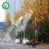 环境监测智能降尘系统街区道路喷雾降尘