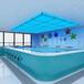 鎮江鋼結構泳池恒溫游泳池