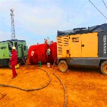 阿特拉斯高压压缩机租赁,泰州试压空压机租赁图片