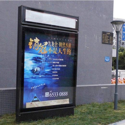 朝陽區公交站臺燈箱廣告價格投放