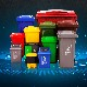 塑料垃圾桶圖