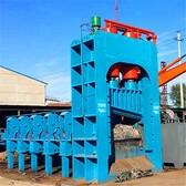 升帆龙门式剪切机400吨废钢铁龙门剪小型液压剪铁机厂家货源