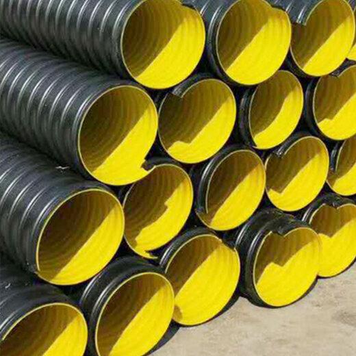 青海PE鋼帶增強螺旋波紋管生產廠家