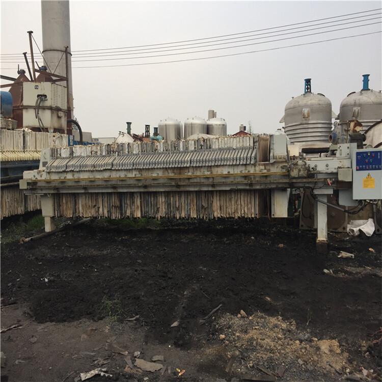 鄭州供應二手板框壓濾機二手污水處理壓濾機