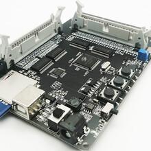 工廠實用型中小尺寸液晶屏測試板支持MCU接口RGB接口SPI接口圖片