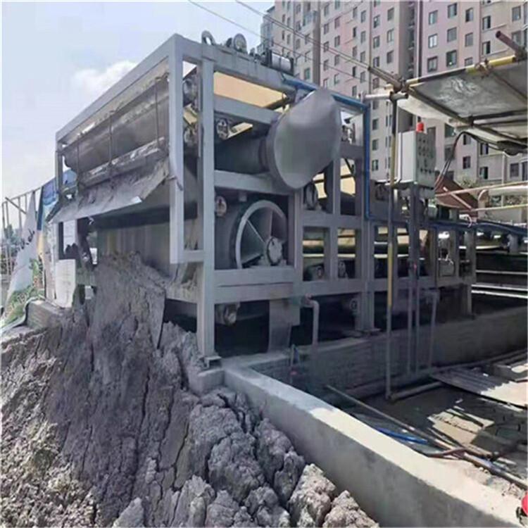 南京回收二手帶式壓濾機洗沙場環保設備