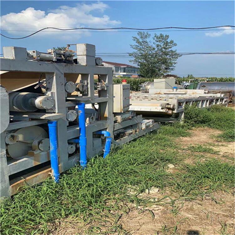 武漢回收二手帶式污泥壓濾機二手污泥脫水壓濾機