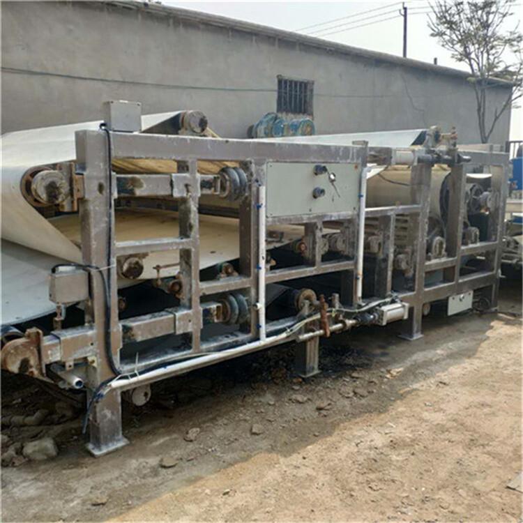 蕪湖供應二手帶式壓榨壓濾機洗沙場環保設備