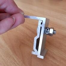 钢结构彩钢瓦屋面抗风夹具固定紧扣夹子图片