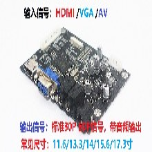 鑫芯微12.3寸驅動板,AT070TN83V.17HDMI驅動板圖片