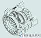 臺灣APEX伺服馬達用減速機AD180-003斜齒齒輪行星減速機