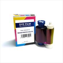 寶瑞迪MZ450ymcko彩色帶 支持雙面打印