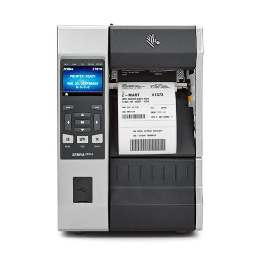 广州ZT610斑马工业级条码打印机300点厂家,610斑马标签打印机
