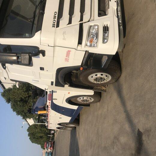 楚勝粵海程力前四后八重型清障車,一拖道路救援清障車