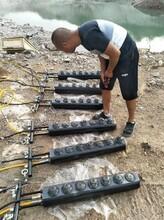 YGF劈裂机,大型裂石机破除岩石设备图片
