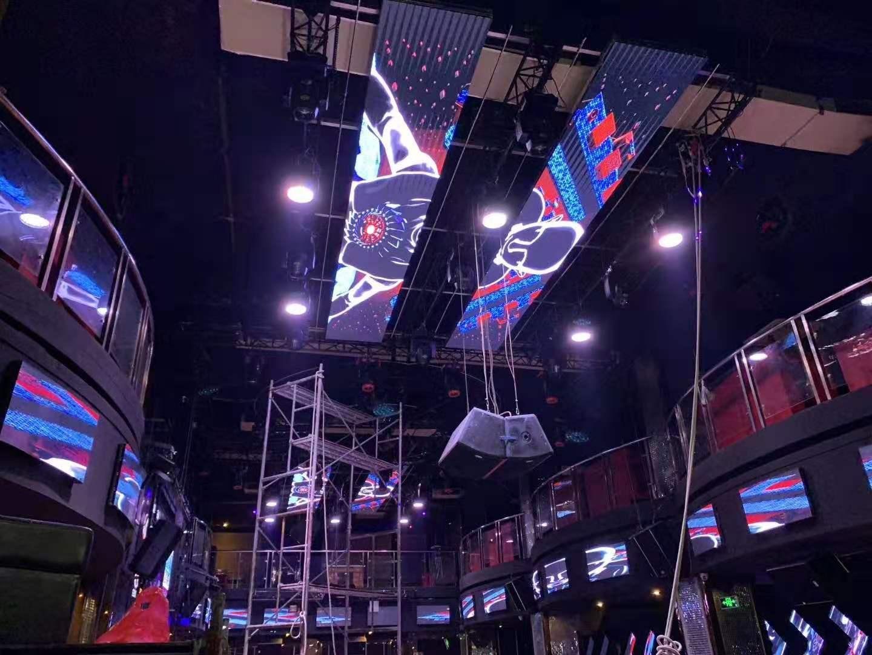 广州天河生产上飞阳LED酒吧屏地砖屏质量可靠
