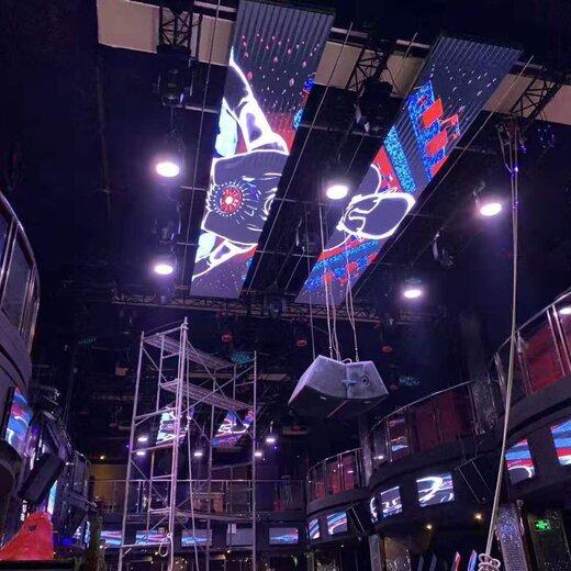 清远连南瑶族自治县销售上飞阳LED酒吧屏地砖屏款式,LED互动地砖屏