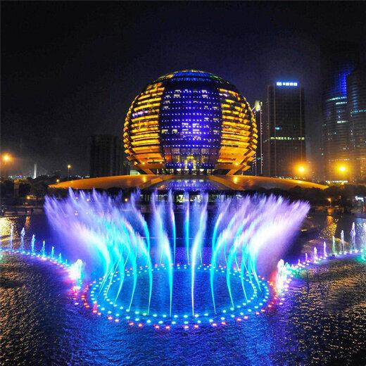 青海音乐喷泉多少钱,音乐喷泉设备