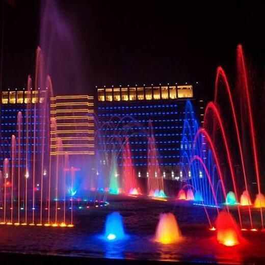 青海唐韵音乐喷泉制作,喷泉设备