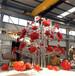 內蒙古不銹鋼花雕塑生產廠