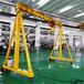 湖北手推移動式小型龍門架性能可靠,手推式龍門起重機