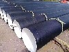 鑫天元环氧煤沥青防腐直缝钢管,环氧煤沥青三油两布防腐钢管价格