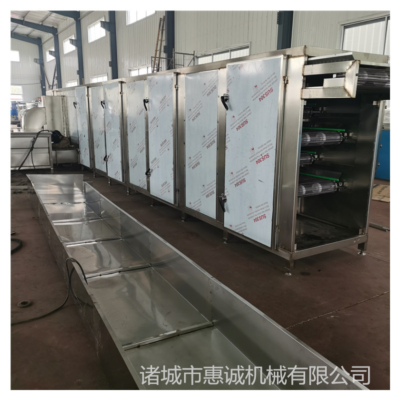 惠诚烘干流水线,安徽安庆新款惠诚食品干燥剂设备果脯烘干厂家直销