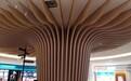 联科弧形铝方通,联科波浪弧形铝方通天花包柱拉弯铝树造形吊顶总代直销