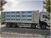 供應東風鋁合金畜禽運輸車操作簡單,9.6米鋁合金運豬車