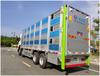 东风天龙铝合金猪苗运输车,东风铝合金畜禽运输车造型美观