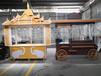 杜謙食品移動攤位車,南寧定制鋼木移動攤位車