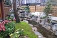 庭院鋪設地面石材,別墅大理石