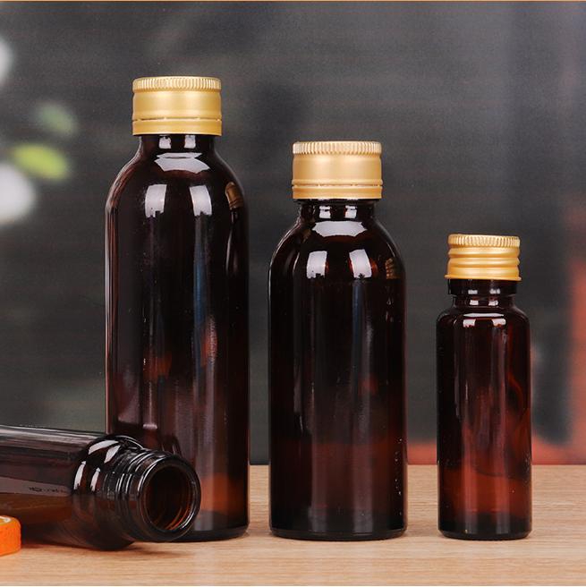 四川光滑透明避光垂直泰信口服液瓶,糖浆瓶