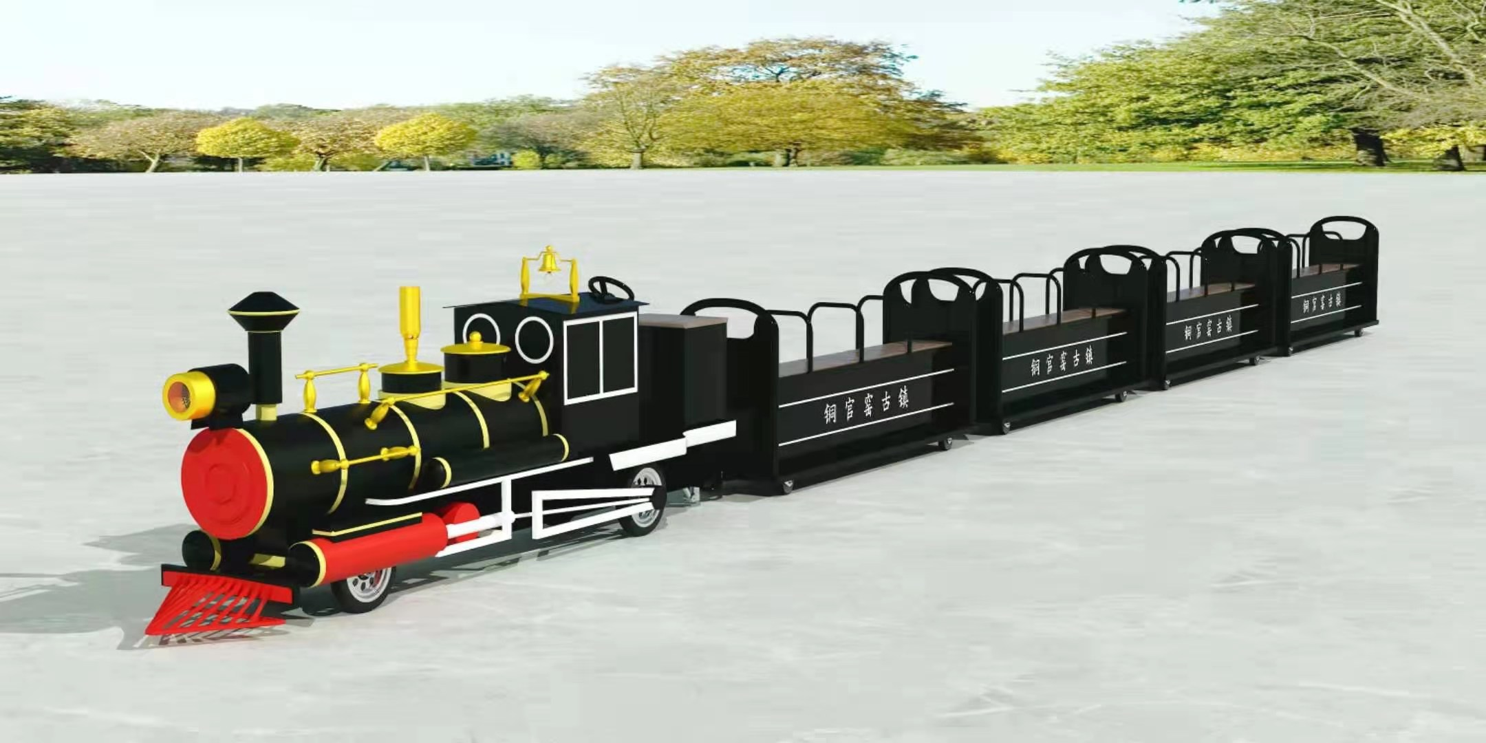 生产观光小火车厂家供应景区网红小火车品质优良,托马斯小火车