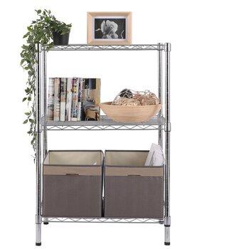 简易小置物架电视置物架多层置物架储物架厨房置物架多层简约卧室置物架美之高