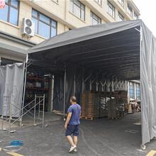 上海嘉定安亭銷售移動雨篷設計合理,伸縮雨篷圖片