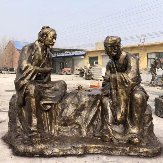 唐韵制茶雕塑,新疆茶文化雕塑加工